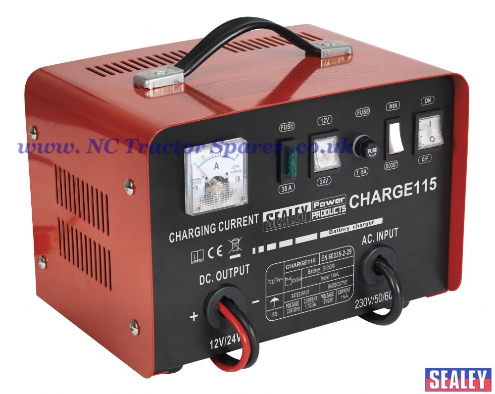 Battery Charger 19Amp 12/24V 230V